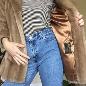 DOPE 60s vintage faux FUR COAT 💋 Tissavel French